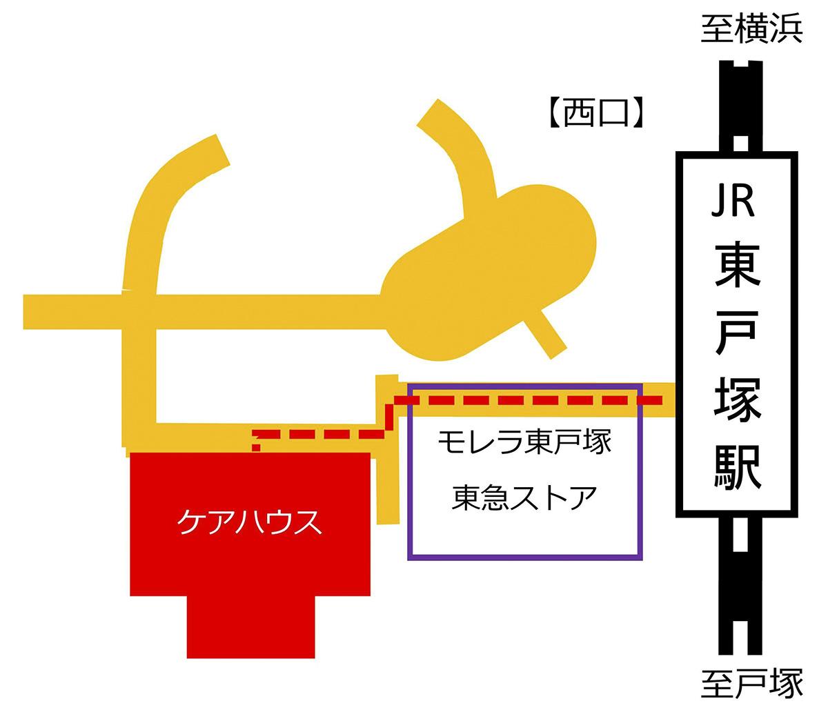 徒歩map